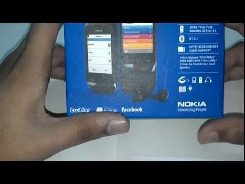 Nokia C2-02 Touch and Type - Unboxing and Quick Review