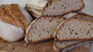 Как сделать домашний хлеб пышным. Хлеб пшенично-ржаной на закваске с глютеном.