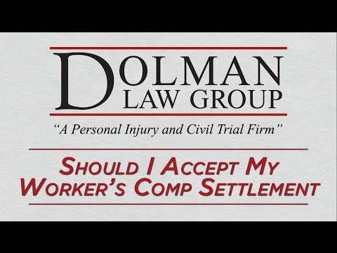 Should I Accept My Worker's Compensation Settlement