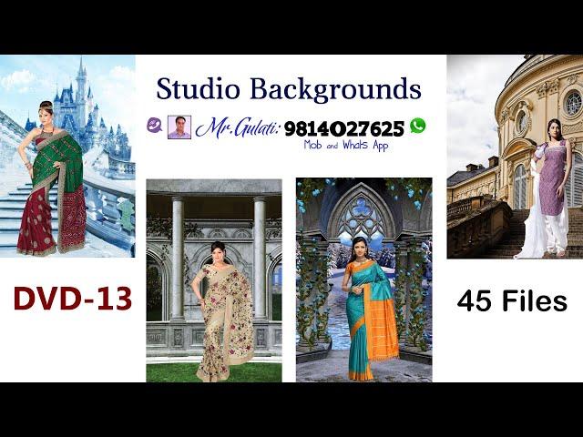 DVD 13 Studio Backgrounds