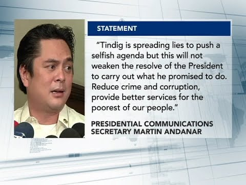 Tindig Pilipinas, nagpapakalat ng kasinungalingan – PCO Secretary Andanar