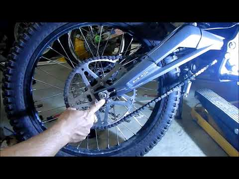 Repeat How To: Adjust Chain Slack + Align Rear Wheel on Sur
