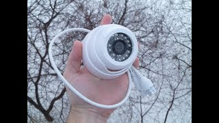 IP камера JIENUO JN-IP517AR-A-WIFI 1080p с картой памяти и микрофоном.ОБЗОР+ТЕСТ
