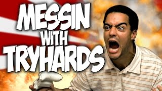 "COD GHOSTS: MESSIN WITH TRYHARDS!! THE EASIEST WAY TO WIN! ""COD TROLLING"""