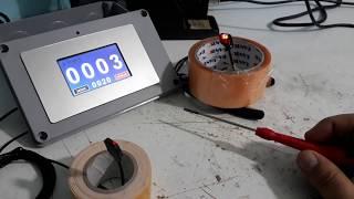 Gambar cover Sensörlü Sayıcı Sistemi  0-9999 Ürün Sayıcı