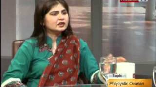 """""""The Health Show"""" Topic: POLYCYSTIC OVARIAN SYNDROME part-3/4 (27-FEB-2012) Health TV"""