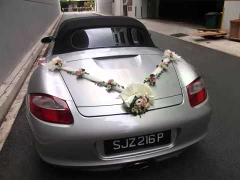 Elegant Wedding Car Decoration | Collection Of Decor ...