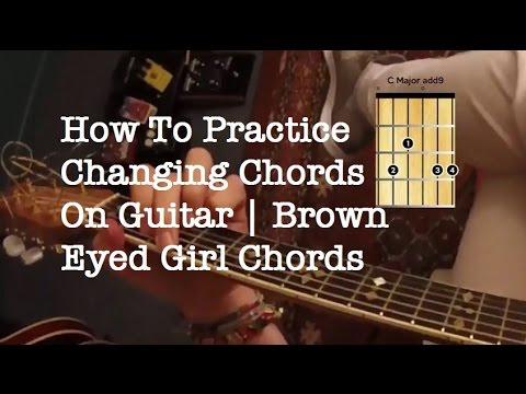 Brown Eyed Girl Acoustic Guitar Chords Easy Van Morrison Guitar