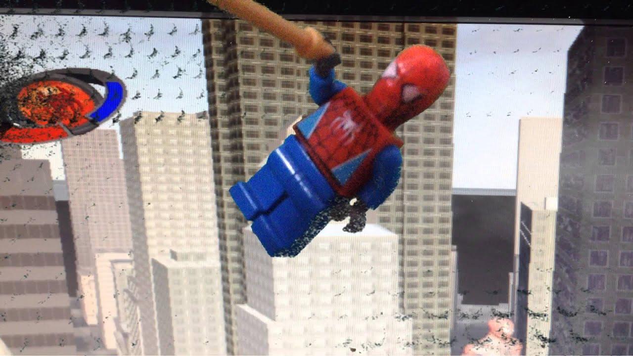 Лего мультик Человек-паук - YouTube