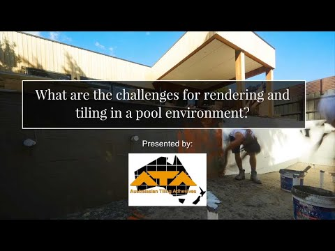 What are the challenges for rendering and tiling in a pool environment?