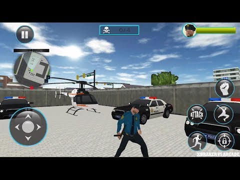 Police Hero Neighbor Rescue 2017 - Last Battle With Mafia Band - Android GamePlay  FHD