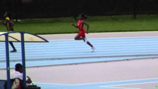 Jahira Wallace - 11/12 girls 200m - Icahn Stadium NY -Youth Challenge Series Meet 3