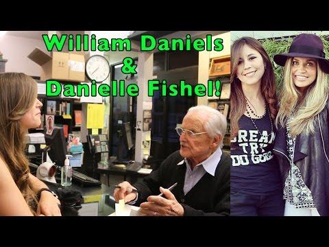 Meeting William Daniels & Danielle Fishel!  Book Soup, Los Angeles, March 28 2017