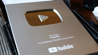 YouTube Silver Play Button Unboxing & A Special Announcement! [Vlog]