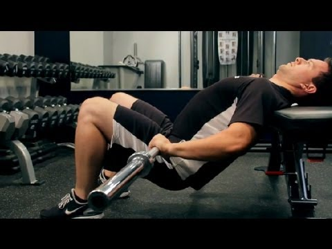 How to Do a Barbell Hip Thrust : Weightlifting & Fitness