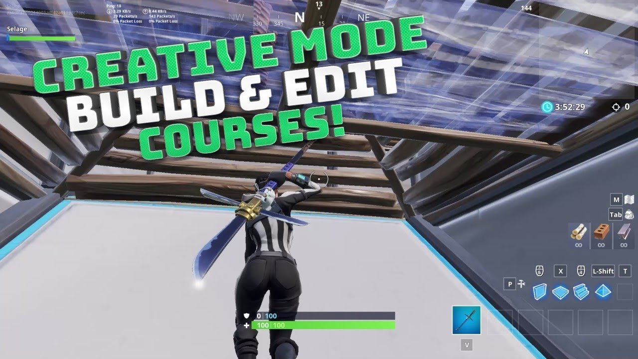 Fortnite Edit Build Courses Codes In Description Fortnite Battle Royale