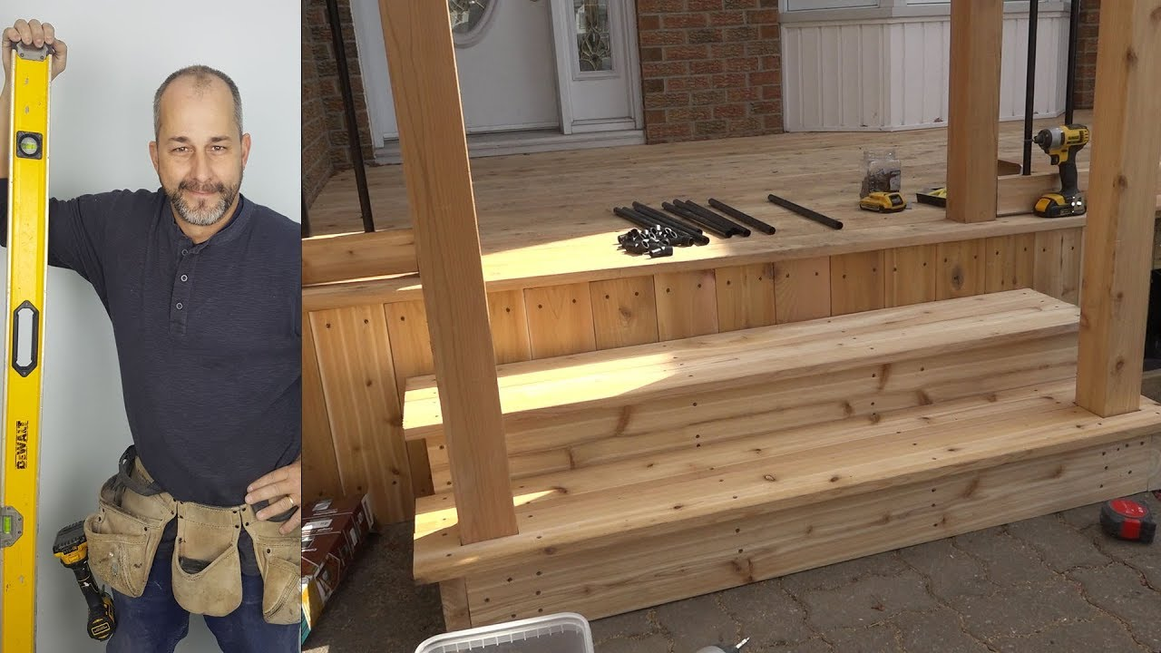 Diy Weekend Deck Project Part 5 Skirt Box Steps And