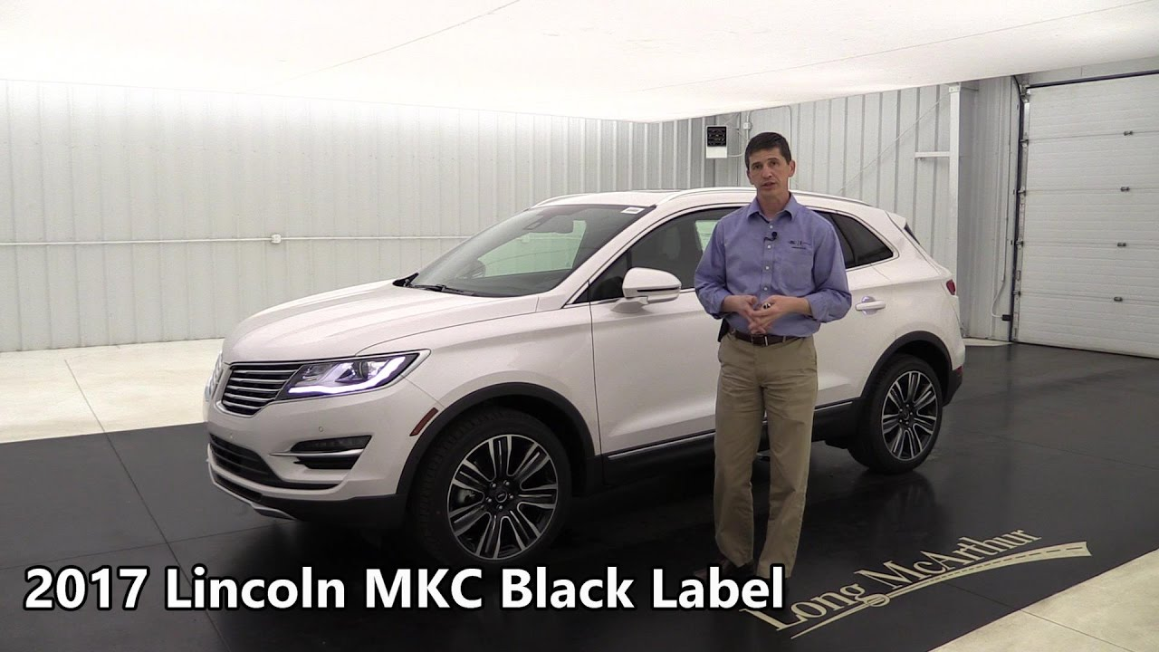 2017 lincoln mkc black label indulgence 17450t youtube. Black Bedroom Furniture Sets. Home Design Ideas