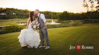 Rochester Wedding | Jen + Robbie | Cobblestone Creek Country Club