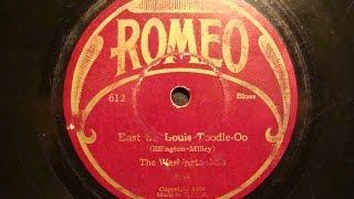 78rpm: East St. Louis Toodle-Oo - The Washingtonians (Duke Ellington), 1928 - Romeo 612
