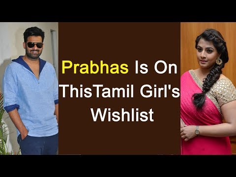 Tamil Girl To Tie Up With Rebel Star Prabhas | VaraLakshmi | Sharath Kumar | YOYO Times