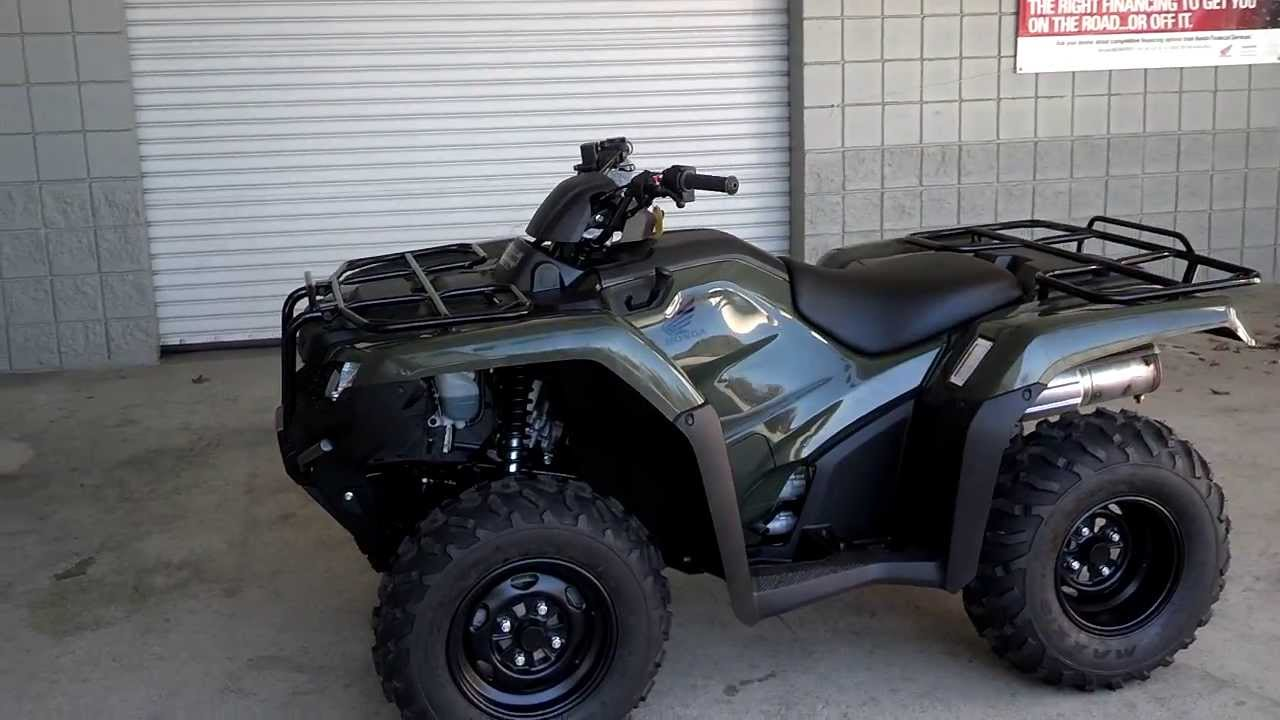2014 Rancher 420 Power Steering 4x4 ATV SALE at Honda of Chattanooga