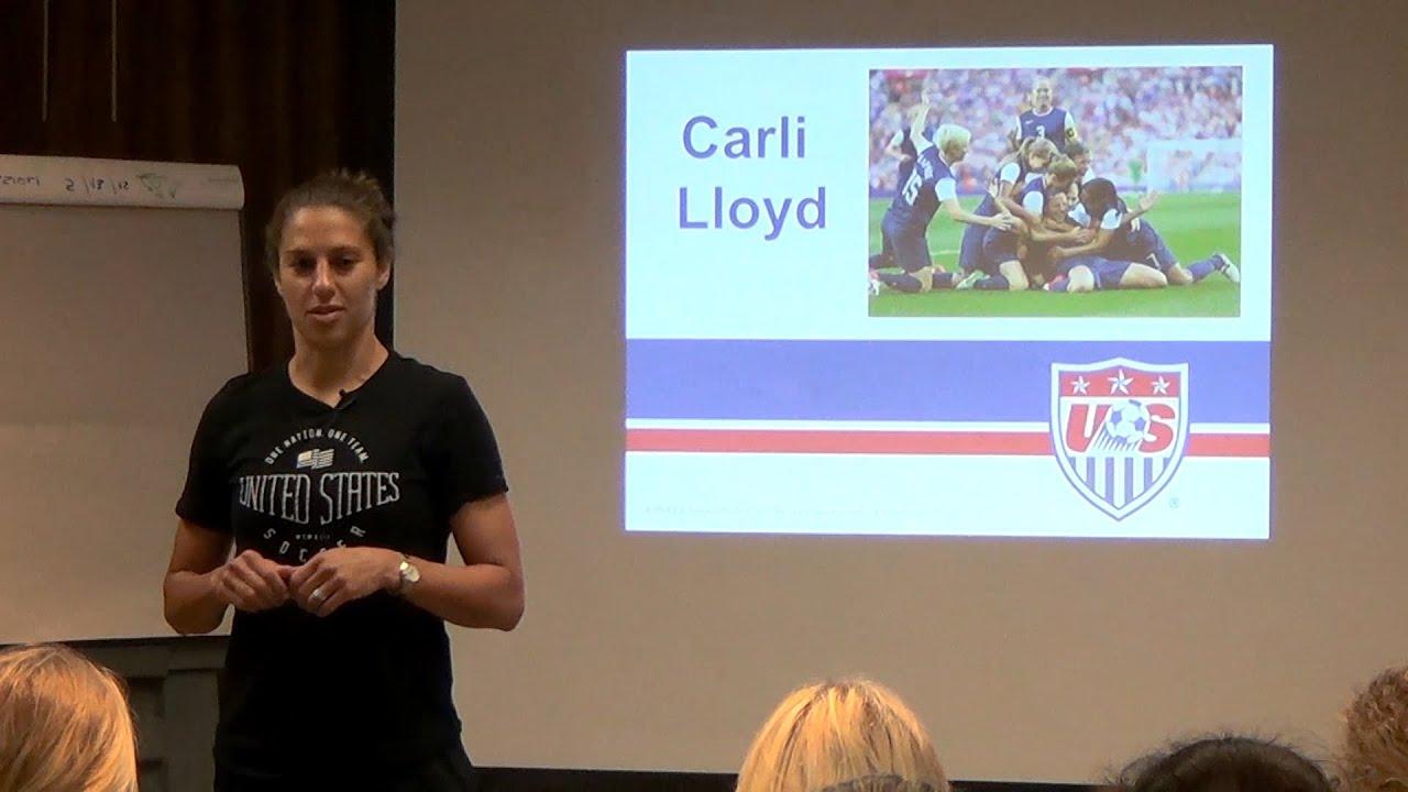 Carli Lloyd Offers Words Of Wisdom To U 20 WNT YouTube