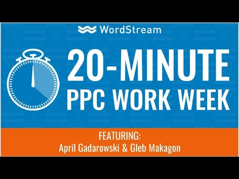 The 20 Minute Work Week for Advertisers
