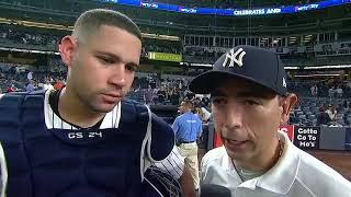 Just as he did a year ago, Gary Sanchez is coming alive at the plat...