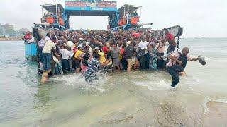 MV NYERERE INAVYOZAMA NIKARUKA, NIMETOKA MZIMA, msiba wa TAIFA