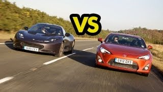 Car Battle: Toyota GT86 vs Lotus Evora S