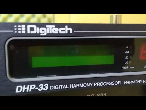 Testando Os Presets De Fábrica Do Digitech DHP 33