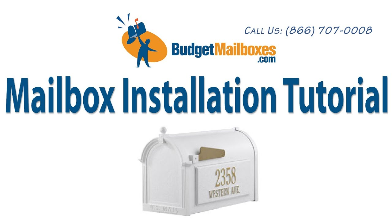 how to install a whitehall mailbox mailbox post amp whitehall address