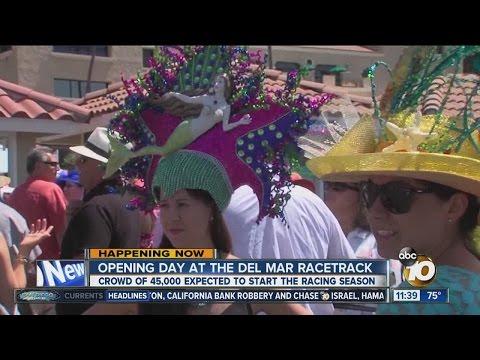 #OpeningDay Kicks Off At The Del Mar Racetrack