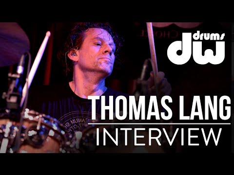 Interview of Thomas Lang - DW DRUMS -  Drum battle Tony Royster & Thomas Lang.