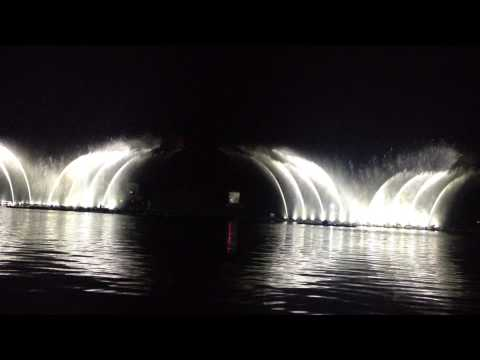 Aamby   Musical Fountain