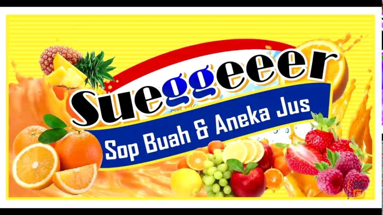 Download Banner Es Buah Cdr - desain spanduk keren