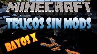 30# Como Tener Rayos X (Muchos Recursos En Poco Tiempo) | Minecraft 1.8.8 | Trucos Sin Mods