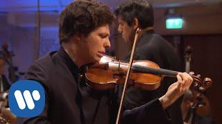 Augustin Hadelich records Brahms: Violin Concerto in D major, I. Allegro non troppo