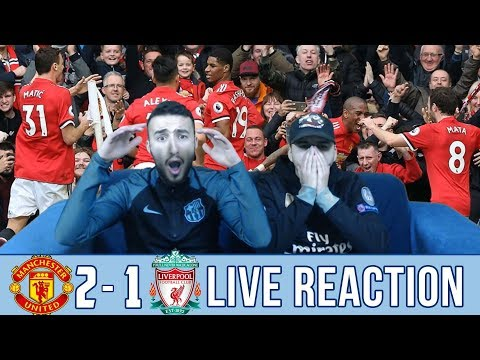 BARCA & MADRID FANS REACT TO: MAN UTD 2-1 WIN OVER LIVERPOOL - REACTION