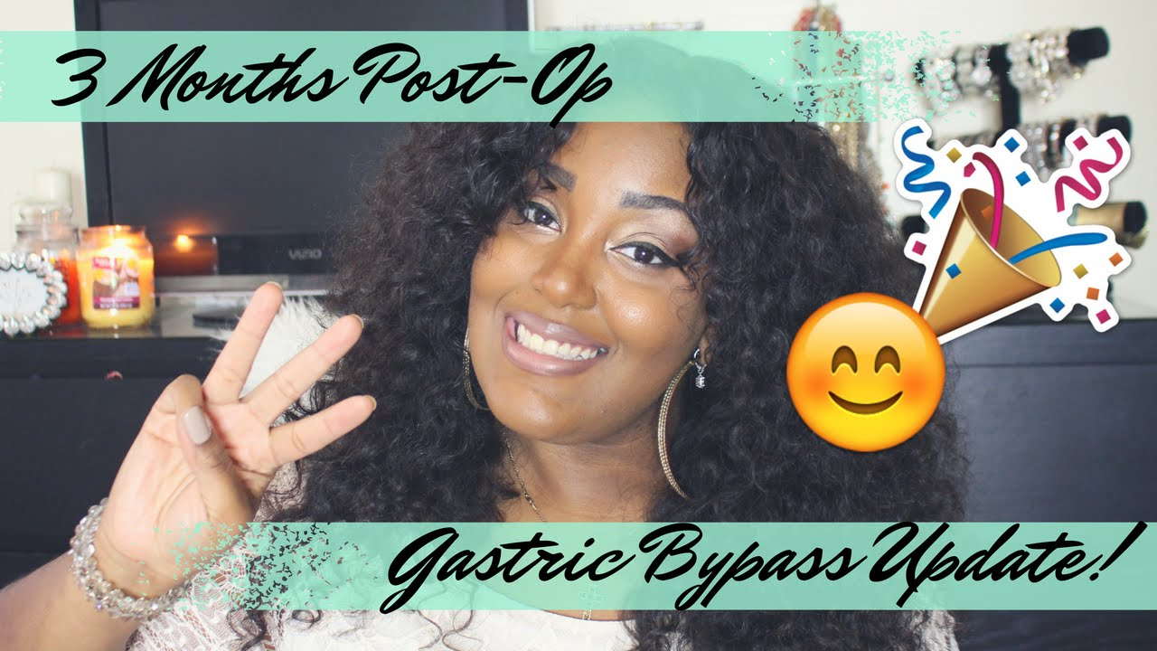 3 Months Post Op Gastric Bypass Update Youtube