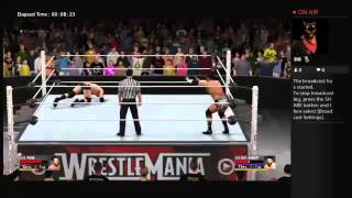 WWE WRESTLE MANIA 2016