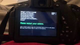 HOW TO INSTALL MAGIC LANTERN ON A CAMERA! 2018!