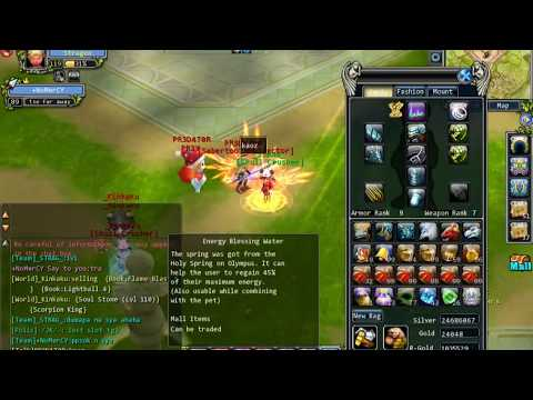 lvl89 vs 140 server thea godswar 2017