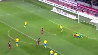 Russia vs Sweden 1-0 All Goals & Highlights 05-9-2015