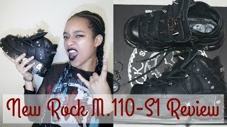 NEW ROCK SHOES REVIEW M.110-S1| My Dark Alternative Life Video