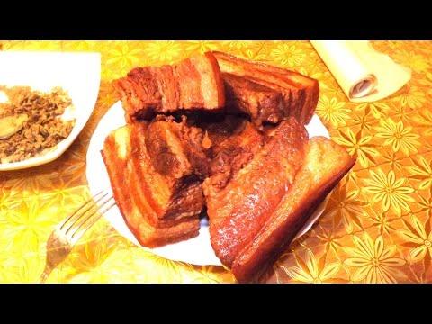 сало в луковой шелухе, рецепт приготовления