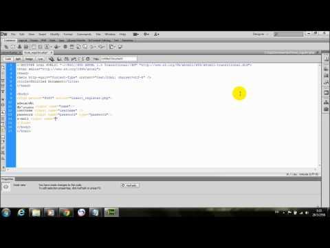สร้าง Register Form ฟอร์มสมัครสมาชิก แบบง่าย ๆ - PHP+MySQL part1/2
