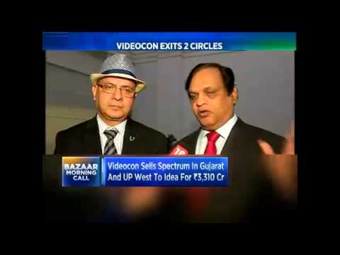 Videocon Sells Spectrum In Gujarat And UP West To Idea For `3,300 Cr- nOV 26