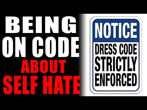 7-17-2021: On Code About Self Hate